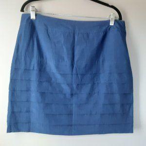 H&M Royal Blue Skirt   Lined   New! 14